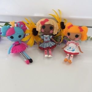 3 Lalaloopsy Mini Dolls